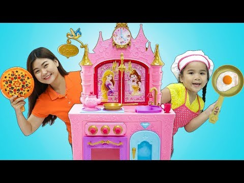 Suri Pretend Play w/ Kids Food Toys and Princess Kitchen Play Set thumbnail