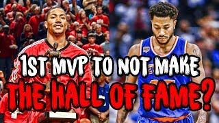 The ONLY NBA MVP To Not Make The Hall of Fame? Derrick Rose's Story