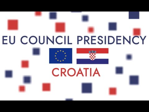 The Croatia's Presidency of the Council of the European Union