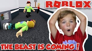THE BEAST IS COMING! ROBLOX FLEE THE FACILITY | RUN, HIDE, ESCAPE!