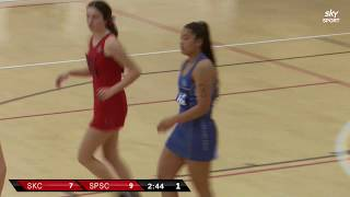 Netball | St Kentigern College vs St Peter's School, Cambridge | Sky Sport