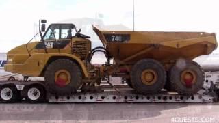 CAT 740 DUMP TRUCK