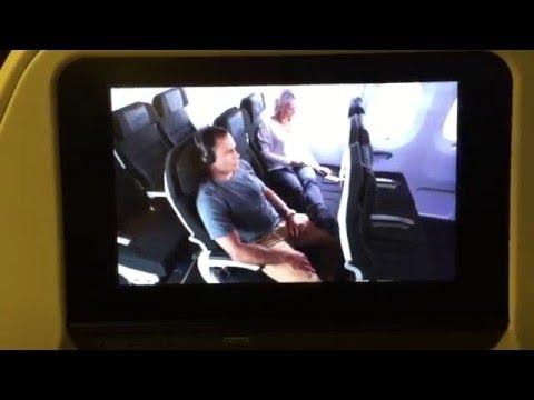 Эконом класс спать в самолете всей семьей