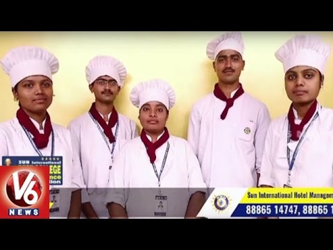 Career Point | Hotel Management Course | SUN International Institute | V6 News
