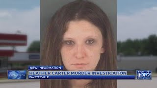 Latest information in the Heather Carter killing