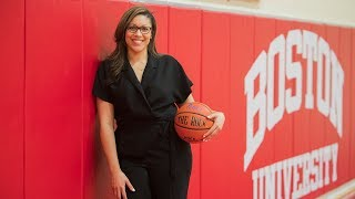 The PLN's Morgan Uber sits down with BU graduate and first-year Head Coach Marisa Moseley