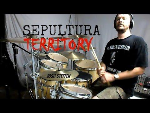 SEPULTURA - Territory (live) - drum cover