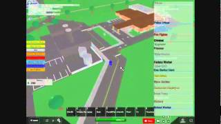 Roblox Roleplaying epic fail Police &Criminal Car Chase