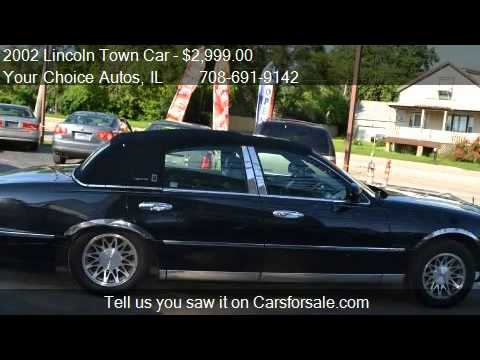 2002 Lincoln Town Car Signature Touring For Sale In Crestw Youtube