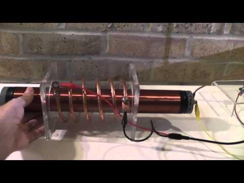 Tesla Magnifying Transmitter configurations.