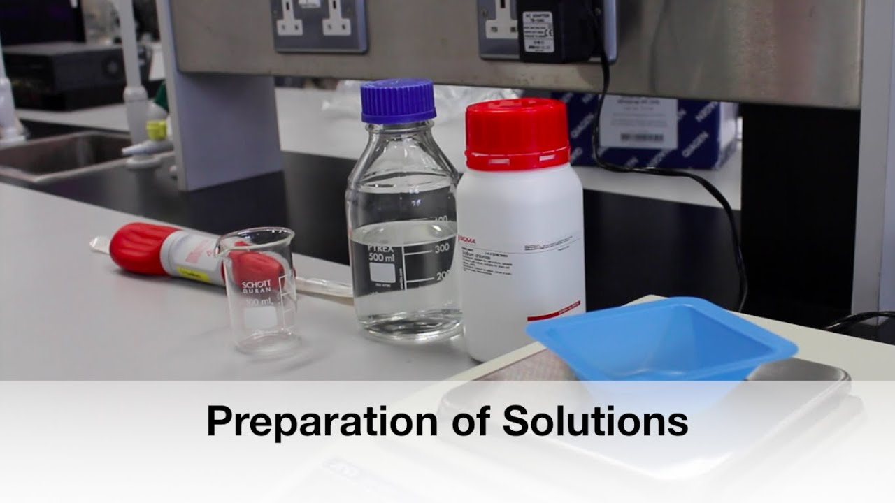 preparation of solutions lab Titration lab: naoh with lab 1: preparation of khp acid  weight of weighing boat before adding khp = 267 g lab 2 : standardisation of naoh solution.