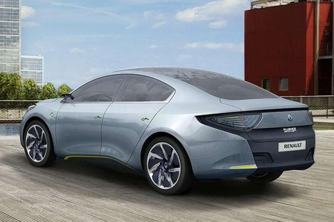 #2590. Renault fluence zero emission 2009 (Prototype Car)