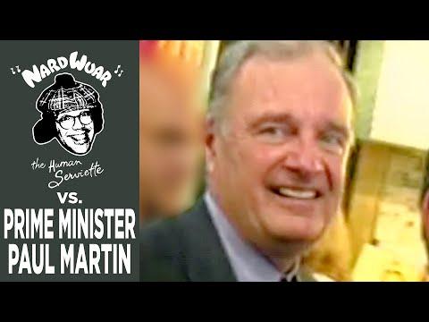 Nardwuar vs. Prime Minister Paul Martin