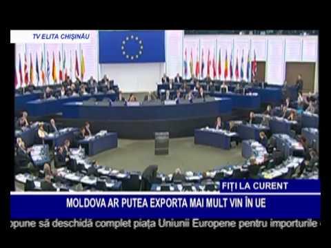 MOLDOVA AR PUTEA EXPORTA MAI MULT VIN ÎN UE