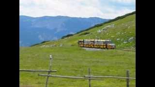 Schneeberg Schneebergbahn Salamander train Salamanderbahn Puchberg Holiday Austria mountain 4