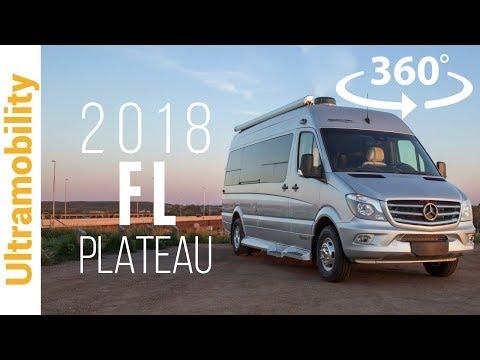 (360 video) 2018 Pleasure-way Plateau FL Review   A Front & Rear Lounge Luxury Class B Camper Van