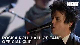 2015 Rock & Roll Hall of Fame Induction Ceremony: Green Day American Idiot (HBO)