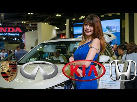 Singapore Motorshow 2018 Cars, Girls and more Cars!