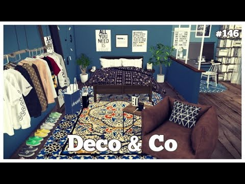 Les Sims 4 | DECO & CO #146 | ATYPICAL BEDROOM