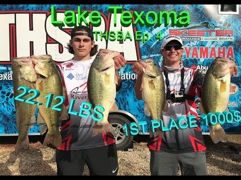 1000$ 1st PLACE 22LBS CRAZY High School Fishing Tournament!!! THSBA Ep. 4 Lake Texoma