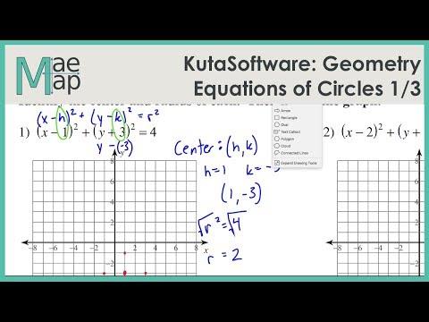 KutaSoftware: Geometry- Equations Of Circles Part 1