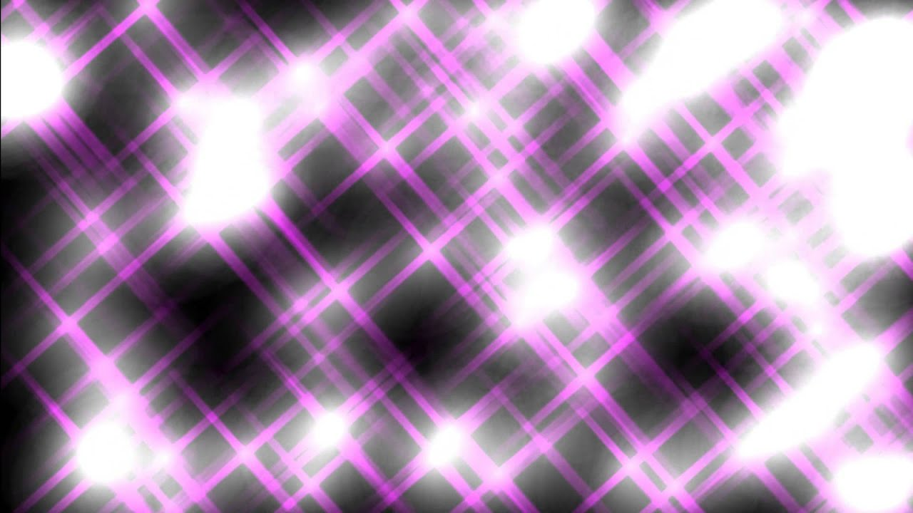 Pink Light And Grid Black Background ANIMATION FREE