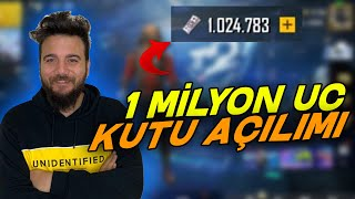 YUH LAN REKOR! 1.000.000 UC KUTU AÇILIMI! PUBG Mobile 1 MİLYON UC