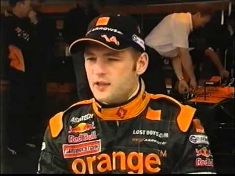 Jos Verstappen Interview 2001