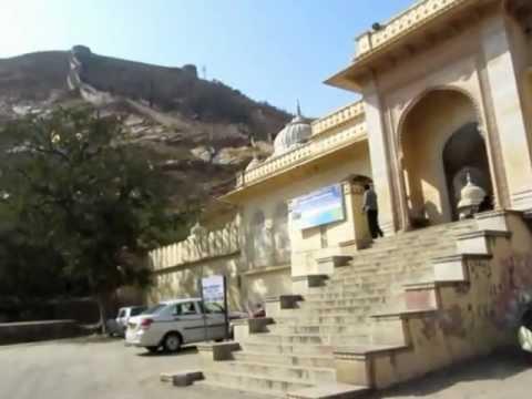 Amir Road, Gaitor and Garh Ganesh Temple Entrance, Jaipur, Rajasthan, India