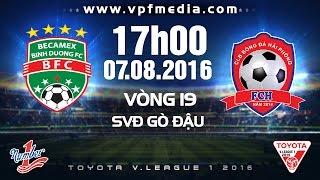 Binh Duong vs Hai Phong full match