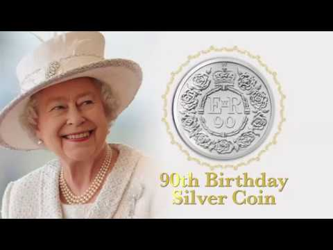 The Queen's 90th Birthday Commemorative Coin From The Royal Mint