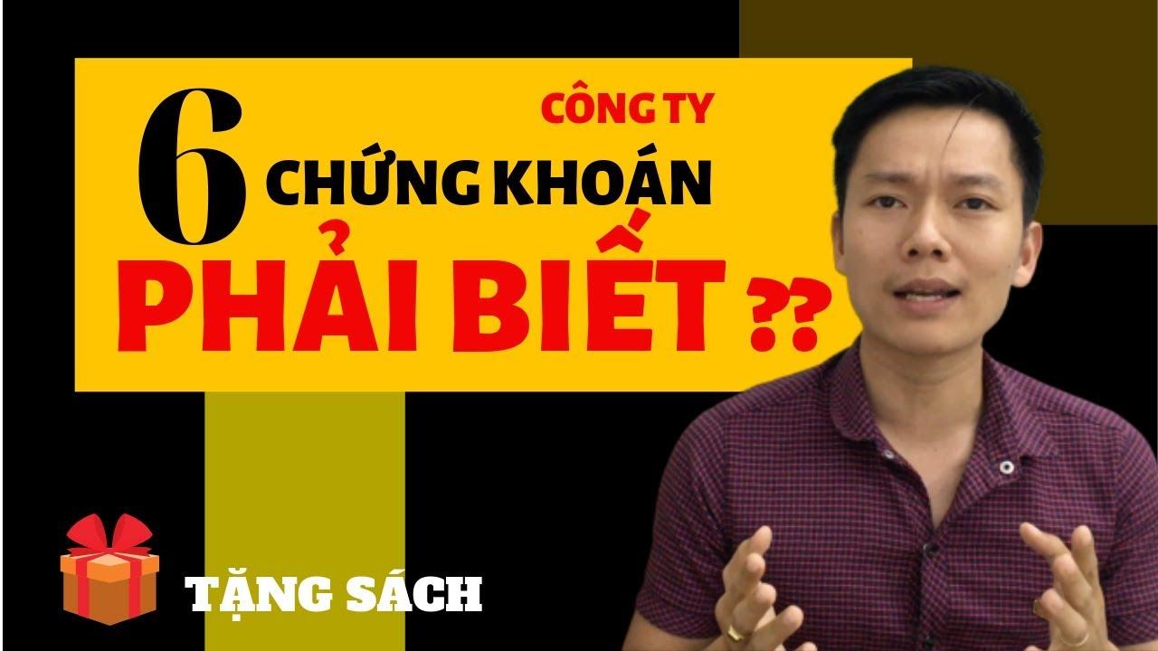 Phạm Minh Hoàng | Học Đầu Tư Chứng Khoán Cơ Bản ✅6 Loại Hình Công Ty Nhất Định Phải Biết[Video 14]