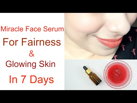 Miracle Face Serum for Fairness and Glowing Skin in 7 Days