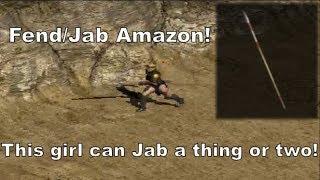 Diablo 2: The Jab Amazon - Strike your enemies down!