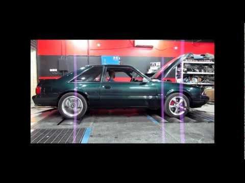 Fox body Mustang kills 2 C6 vettes and Camaro SS
