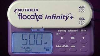 Flocare Infinity+ Enteral Feeding Pump - Programming