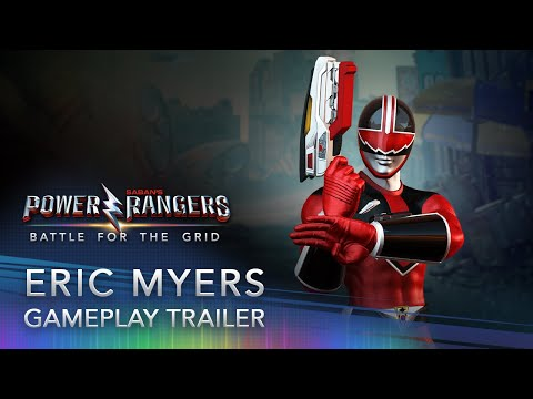 Power Rangers: Battle For The Grid - Eric Myers (Quantum Ranger)