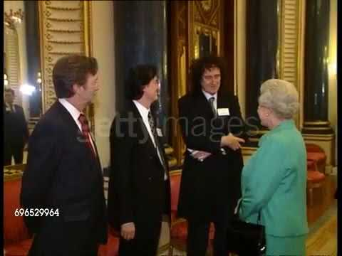 Brian May, Jimmy Page, Eric Clapton & Jeff Beck meets the Queen
