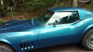 69 Corvette before matching #s engine install