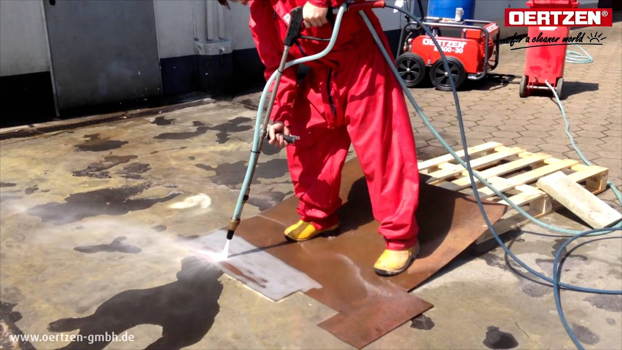 Will A Pressure Washer Remove Paint From Metal