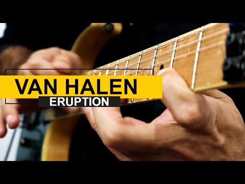 RIP 😢 O solo de guitarra Eruption será que é tudo isso mesmo...