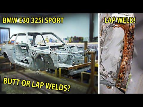 Literally Rebuilding A Rusty BMW E30 Sport | Part 3 - Butt or Lap Welds?