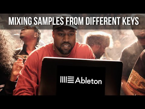 """Kanye West"" Music Theory – Mixing Samples From Different Keys (Ableton Live Masters)"