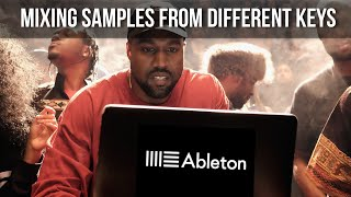 """Kanye West"" Music Theory - Mixing Samples From Different Keys (Ableton Live Masters)"