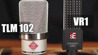 Neumann TLM 102 vs SE VR1 Voodoo (acoustic guitar) (pt.1)