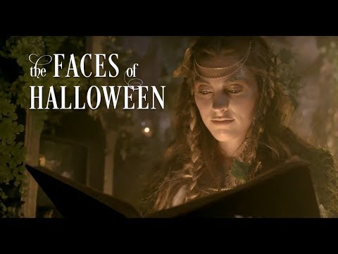 the faces of halloween grandin road