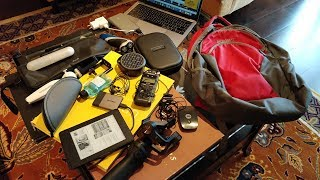 This is what I carry In My Backpack When I travel - Geekyranjit