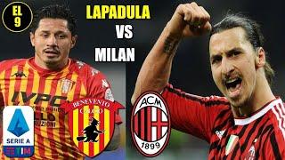 Gianluca Lapadula Benevento vs Milan
