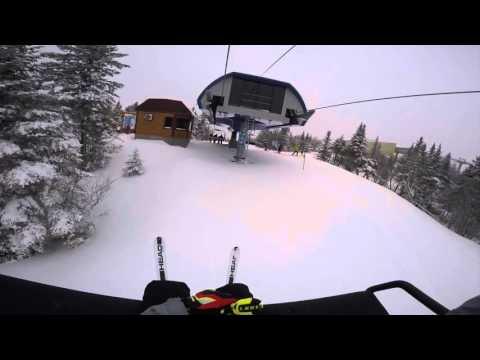 Skiing at Mont Sainte Anne