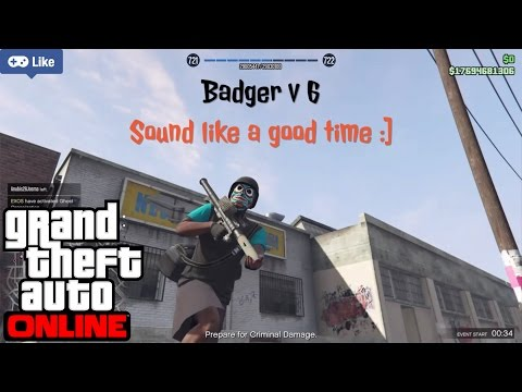 When Getting Jumped Goes Wrong   Freemode War (GTA 5 online) PS4